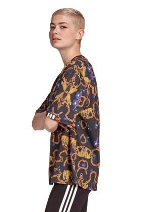 Camiseta Adidas Oversized Her Studio London Preta