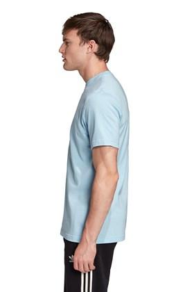 Camiseta Adidas Trefoil  Azul/Ceu