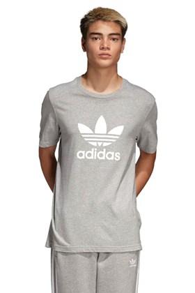 Camiseta ADIDAS Trefoil Cinza/Cinza