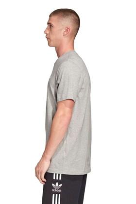 Camiseta ADIDAS Trefoil Essentials Cinza