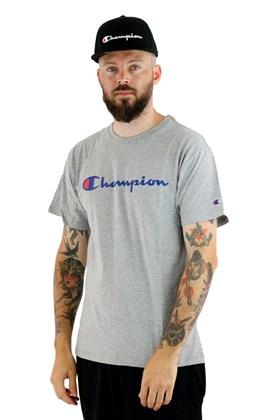 Camiseta Champion Logo Script Ink Mescla