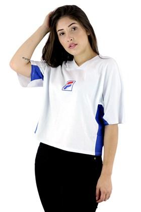 Camiseta FILA Easy FBox Feminina Branca