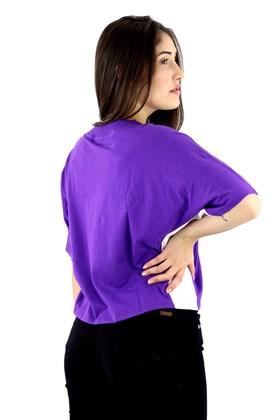 Camiseta FILA Easy FBox Feminina Roxa