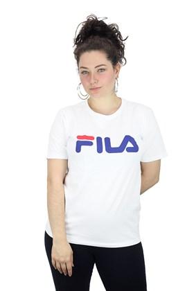 CAMISETA FILA FEMININA BASIC LETTER BRANCA