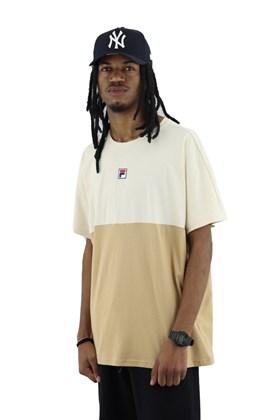 Camiseta FILA Flag Bege/Creme