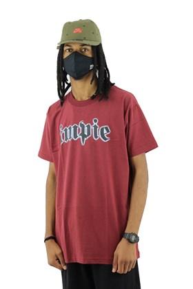 Camiseta Impie Chrome Bordo