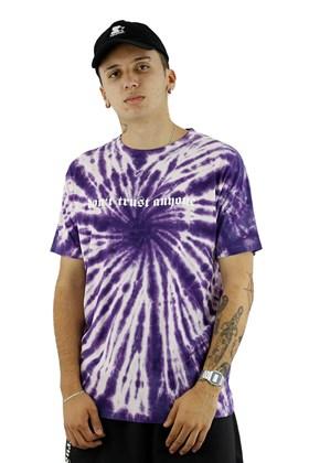Camiseta Impie DTA Tie Dye Roxa