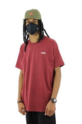 Camiseta Impie Essential Bordo