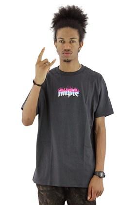 Camiseta IMPIE Flame 8 Cinza/Chumbo
