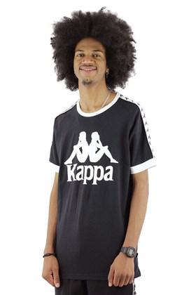 Camiseta Kappa Authentic Logo Preta