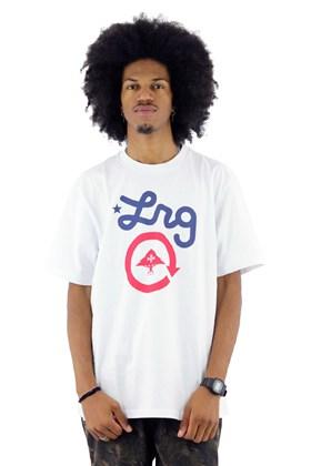 Camiseta LRG Cycle Logo Branca