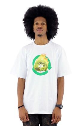 Camiseta LRG Dont Panic Branco