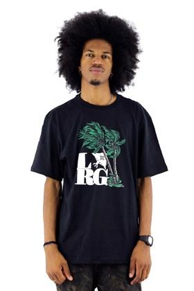Camiseta LRG Gusty Palms Preta