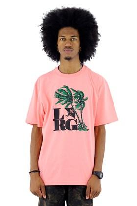 Camiseta LRG Gusty Palms Salmao