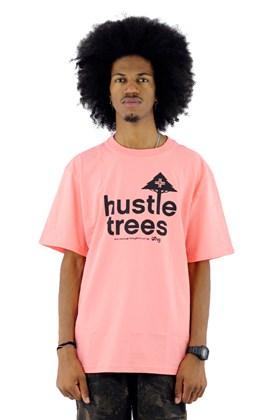 Camiseta LRG Hustle Trees Salmão
