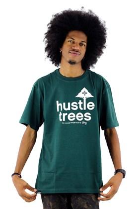 Camiseta LRG Hustle Trees Verde