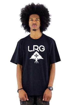 Camiseta LRG Logo Stack Preta
