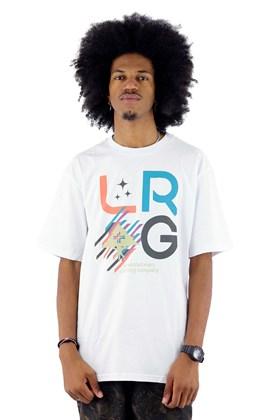 Camiseta LRG Stacked Branco