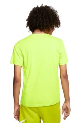 Camiseta Nike Sportswear Club Verde/Preta