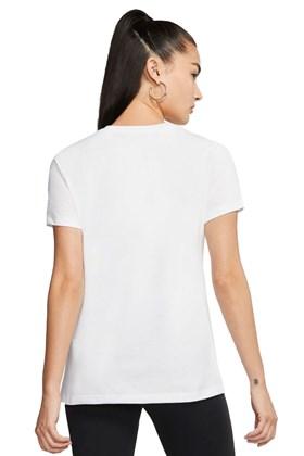 Camiseta NIKE Sportswear Futura Tiger Feminina Branca