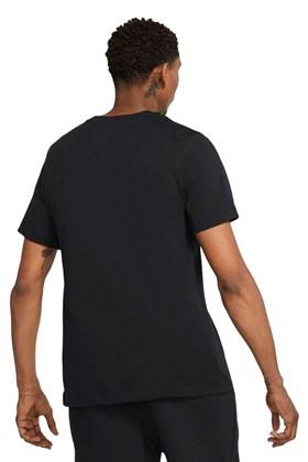 Camiseta Nike Sportswear JDI Preta/Vermelha