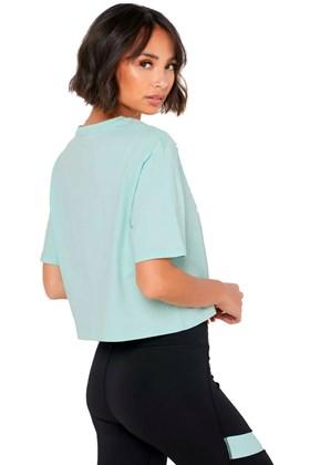 Camiseta Puma Essentials Cropped Feminina Verde