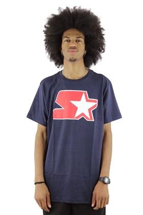 Camiseta STARTER Basic Logo Azul/Marinho