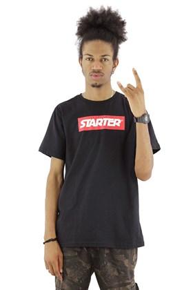 Camiseta STARTER Basic Logo Letter Preta