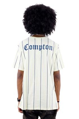 Camiseta Starter Compton Listra Bege