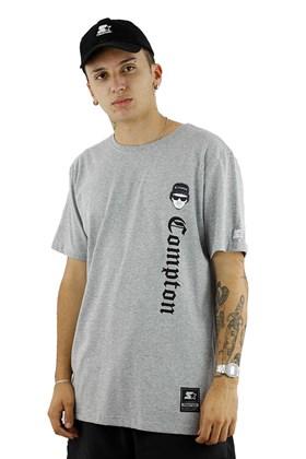 Camiseta Starter Eazy-E Compton Cinza/Preta