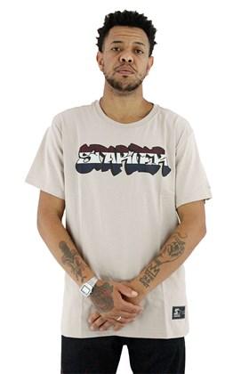 Camiseta Starter Graffiti Bege