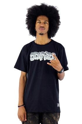 Camiseta Starter Graffiti Preta