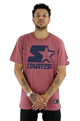Camiseta Starter Logo Basic Marrom