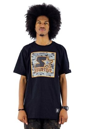 Camiseta Starter Logo Block Preta