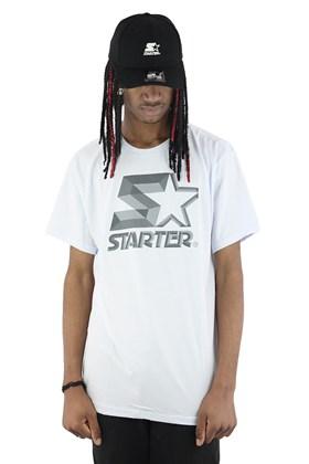 Camiseta Starter Logo Metal Basic Branca