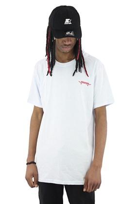 Camiseta Starter Logo Skate Basic Branca