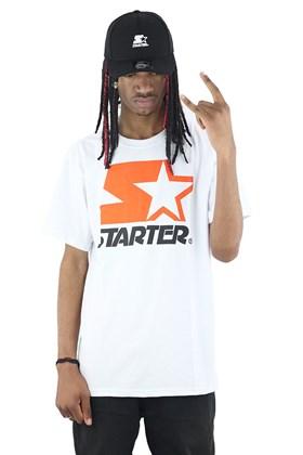 Camiseta Starter Logo Two Color Basic Branca