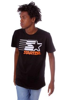 Camiseta Starter Logo Two Color Basic Preta