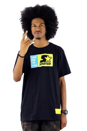 Camiseta Starter Look For The Star Preta