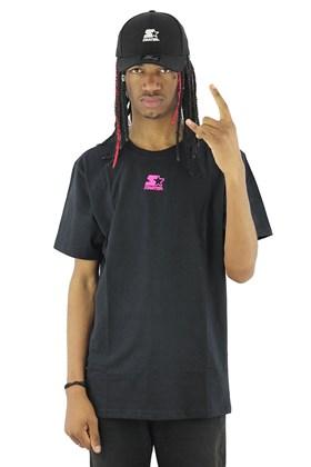 Camiseta Starter Mini Logo Basic Preta