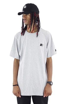 Camiseta Starter Mini Logo Cinza