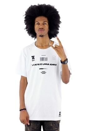 Camiseta Starter Skate Branca