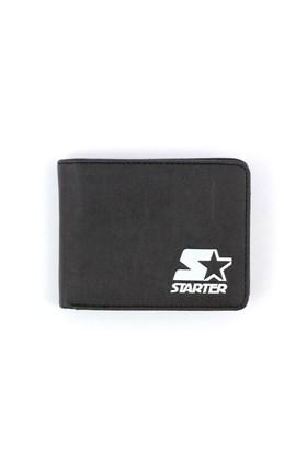 Carteira Starter Logo Porta Cartao Preto/Branco
