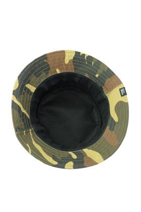 Chapeu Bucket Hat NewSkull Rubber Camuflado