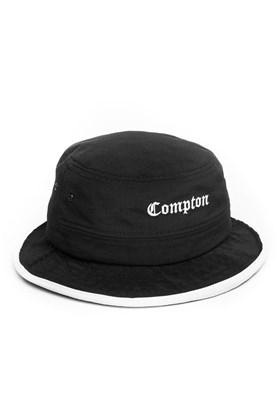 Chapeu Bucket Hat STARTER Compton Preto/Branco