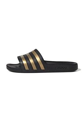 Chinelo Adidas Adilette Aqua Preto/Ouro