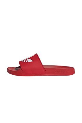 Chinelo Adidas Adilette Lite Vermelho/Branco
