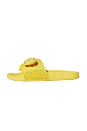 Chinelo Adidas Boost Pharrell Williams HU Amarelo/Amarelo