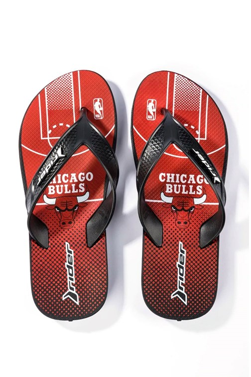 Chinelo Dedo Rider Street Bold Nba Chicago Bulls