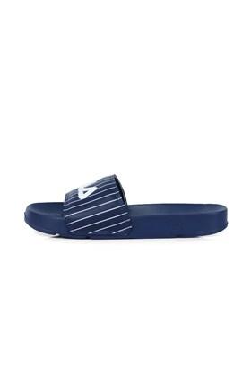 Chinelo Fila Slider Drifter Stripes Feminino Azul